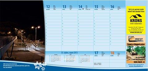 Fotky v kalendářích Uherskobrodsko 2013 a Uherskohradišťsko 2013